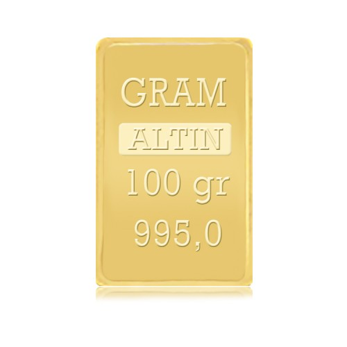 100 gr IAR Gram Külçe Altın(stokla sınırlıdır)